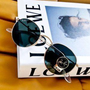 NWT Ray-Ban Blackish Green Sunglasses RB3447 51mm